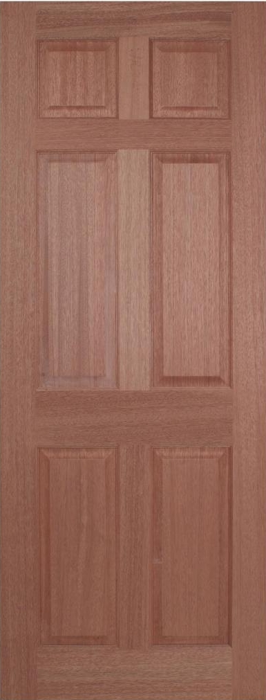 Regency 6P Internal Hardwood Door