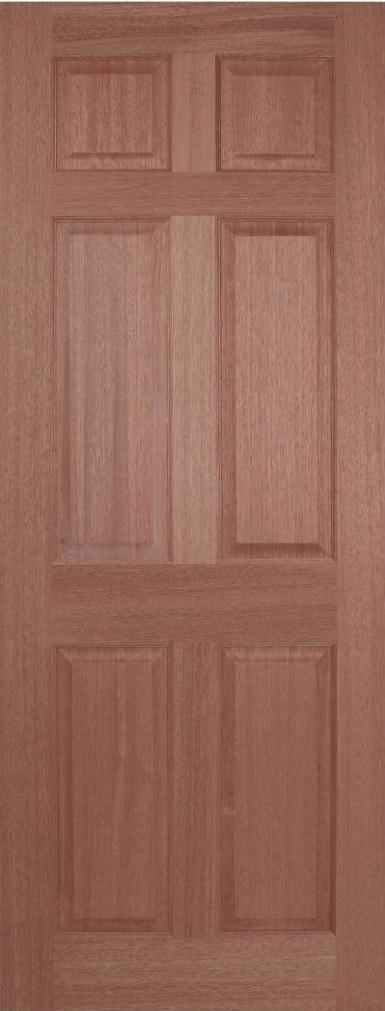 Regency 6P Internal Hardwood Door