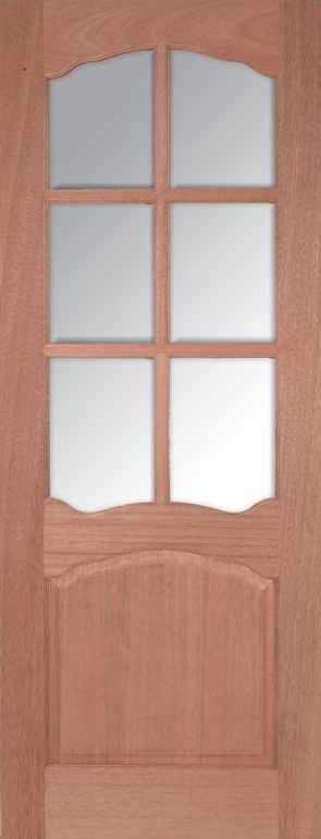 Riviera 6L Internal Hardwood Door