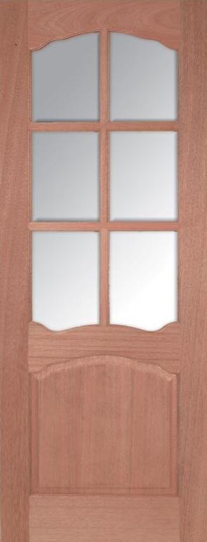 Riviera 6L Internal Hardwood Door