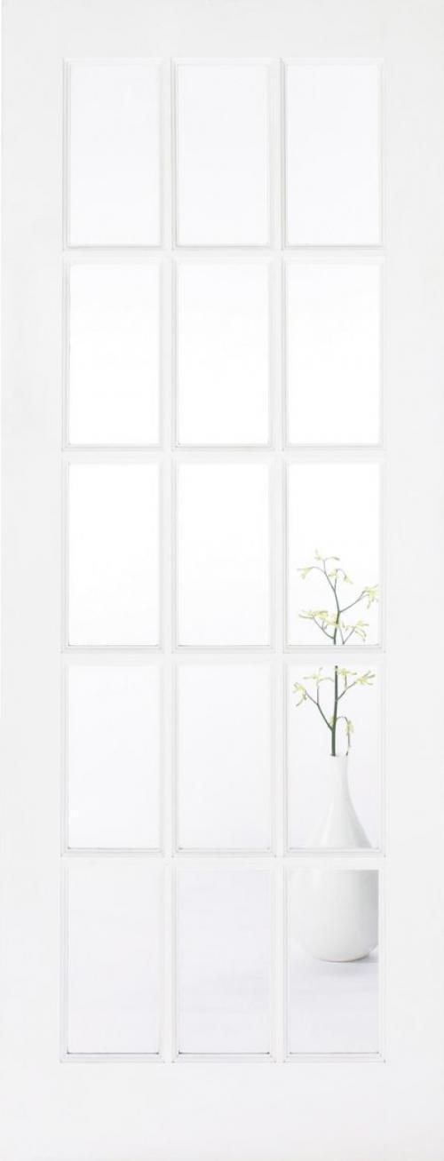 SA 15L Glazed White Door