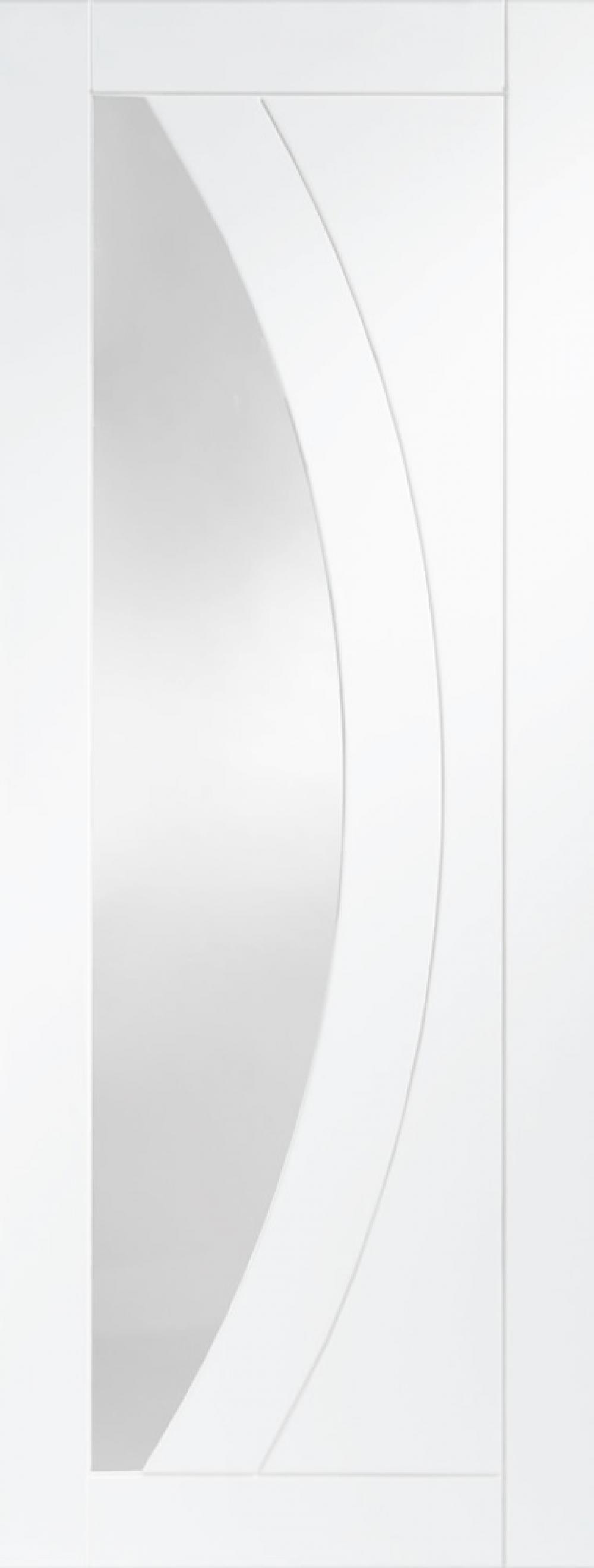 Salerno White Glazed Door