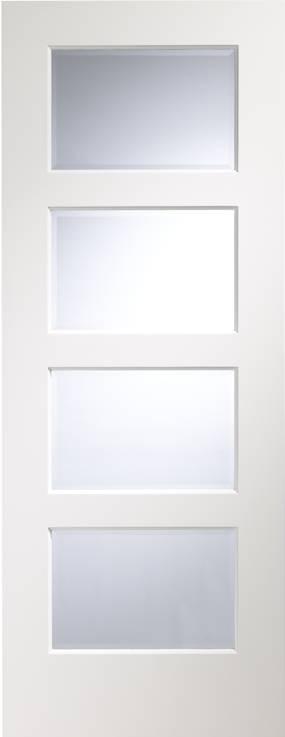 Severo White Glazed Door - PREFINISHED