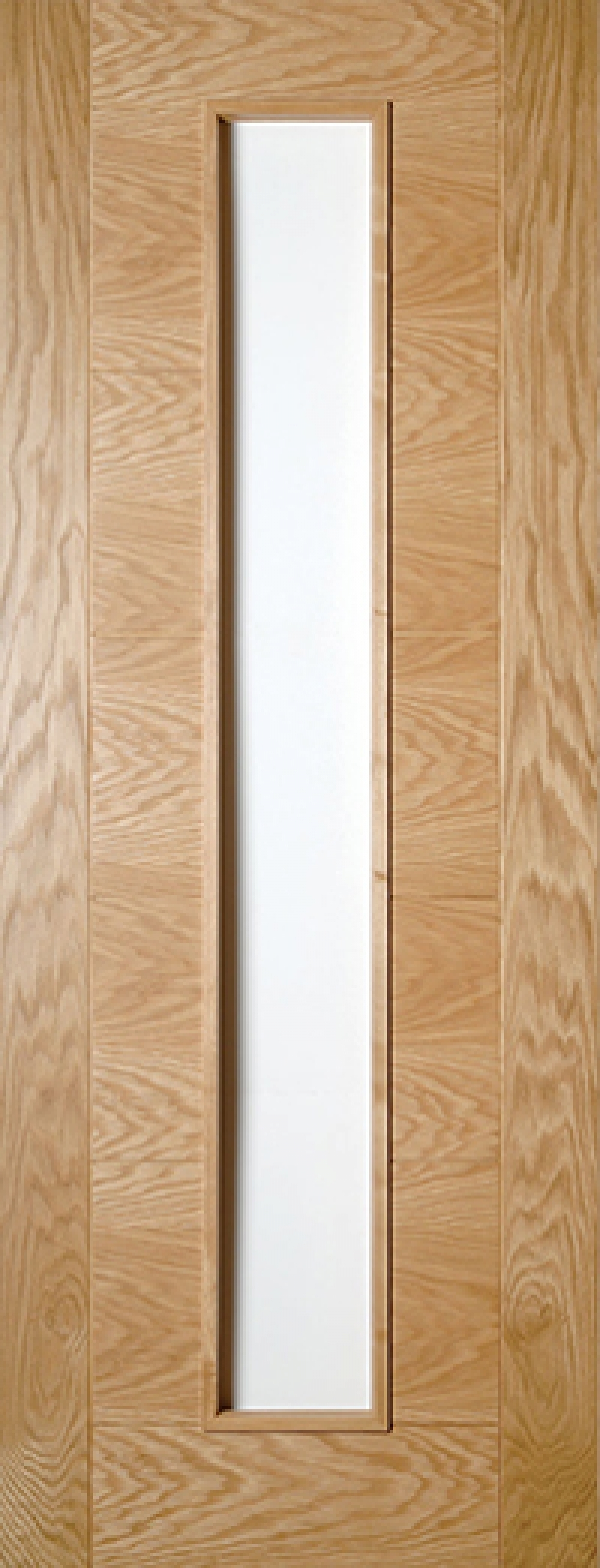 Seville Oak Door Unglazed - Prefinished