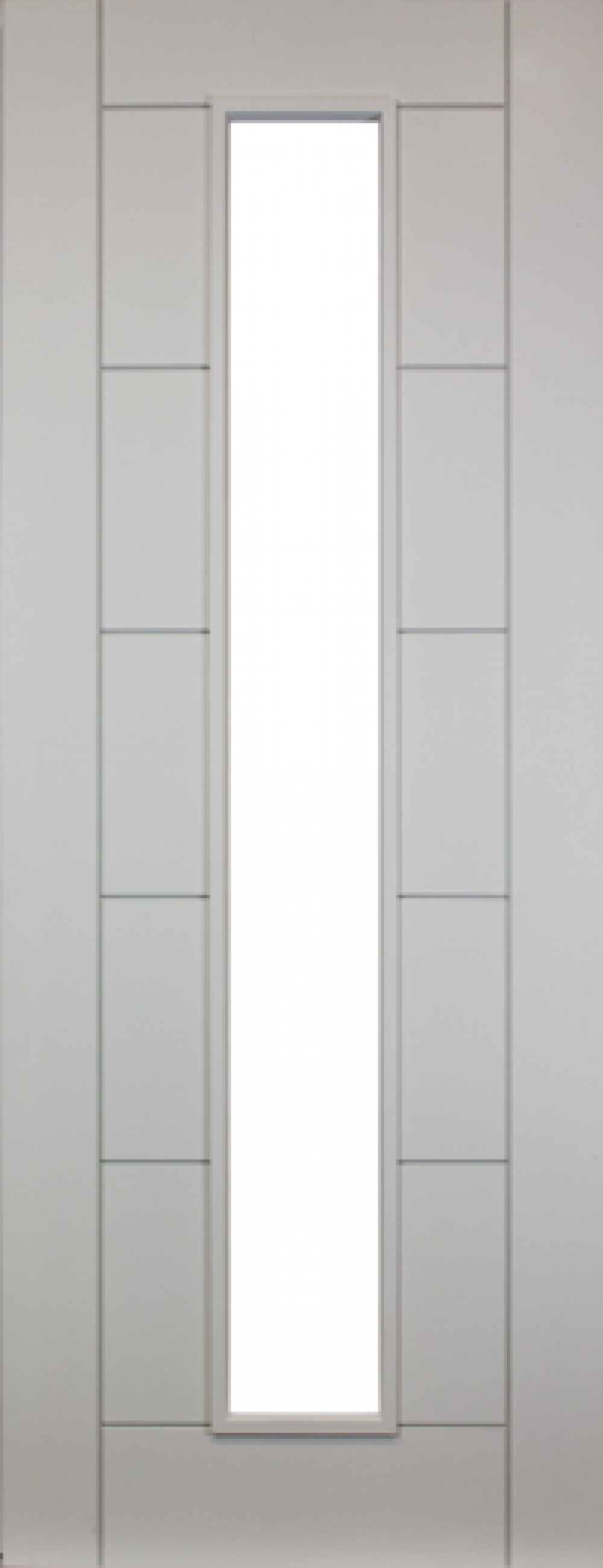 Seville White Primed Unglazed Door