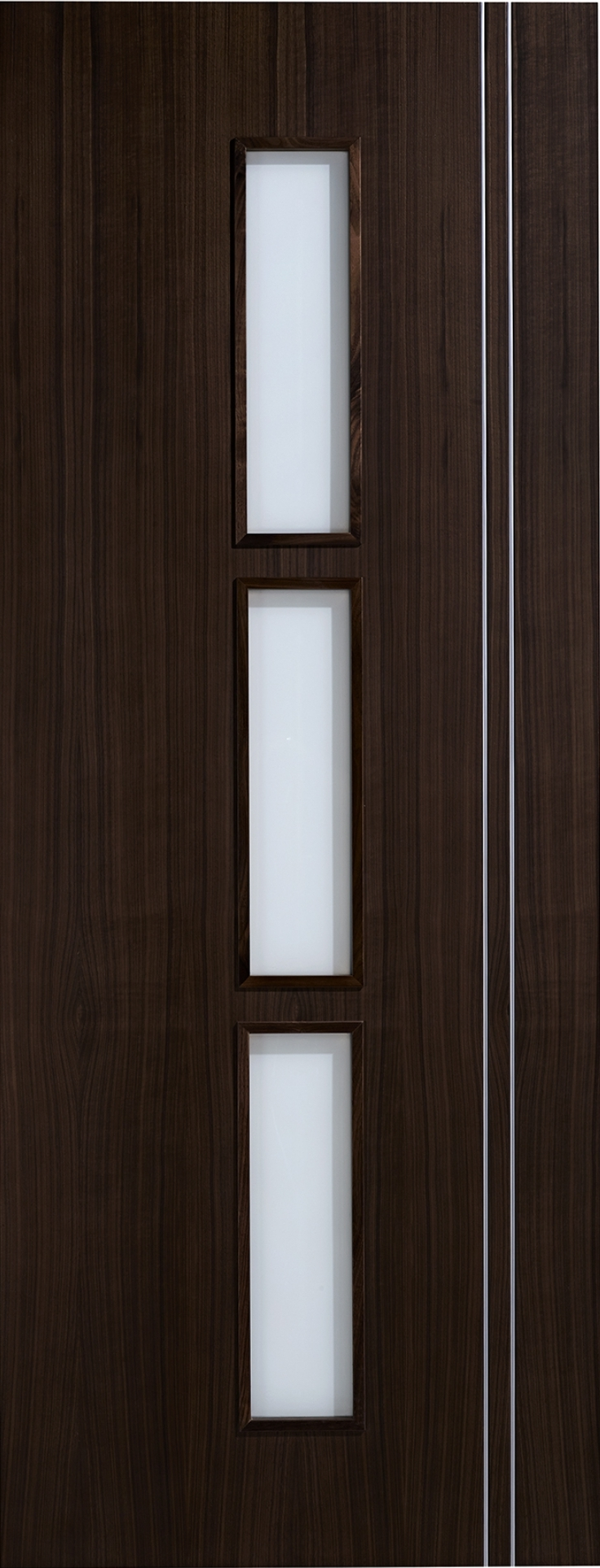 Sierra Walnut Glazed Door