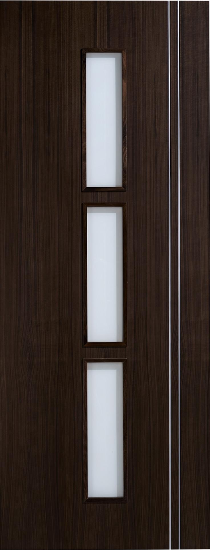 Sierra Walnut Glazed Door