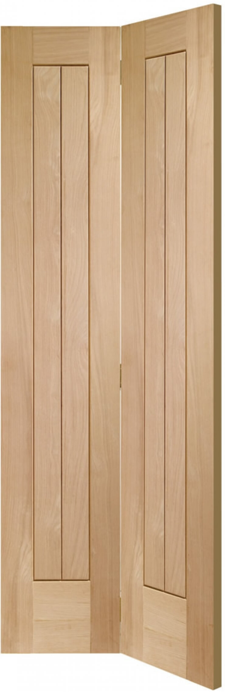 Suffolk Oak Bifold Door