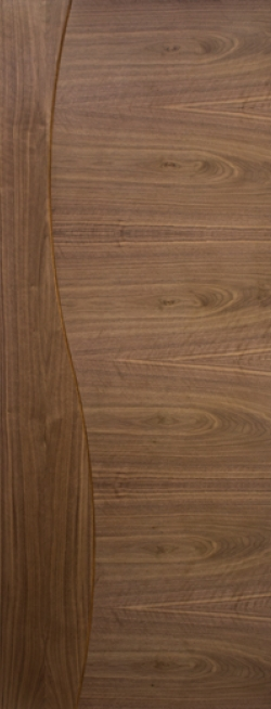 Cadiz Walnut Door - Prefinished Image