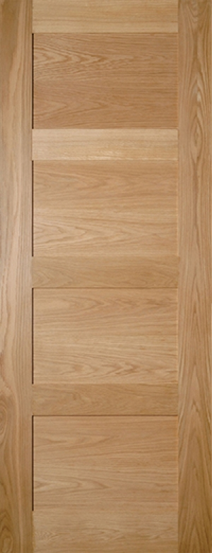 Coventry Prefinished Shaker 4 Panel Oak Door Image