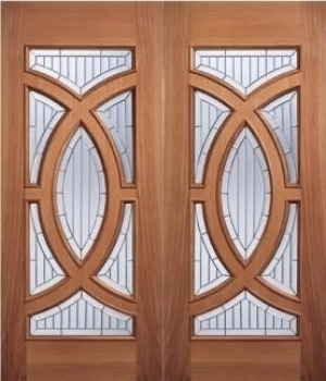 Majestic hardwood grand entrance doorss from vibrant doors for Hardwood entrance doors