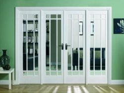 Manhattan Room Divider Range: Internal French doors with sidelight options Image