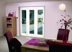 White Bifold 3 Door System ( 3 X 1