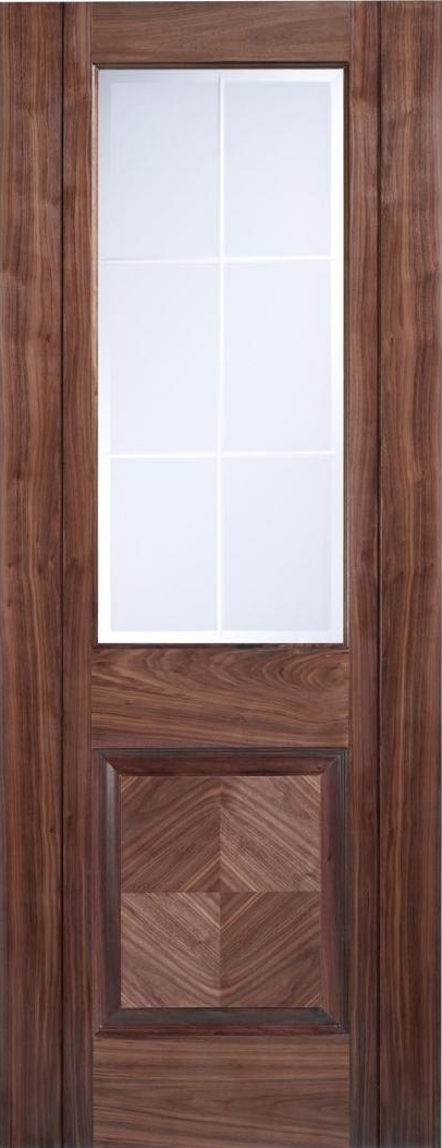 Valencia Walnut Door - Prefinished