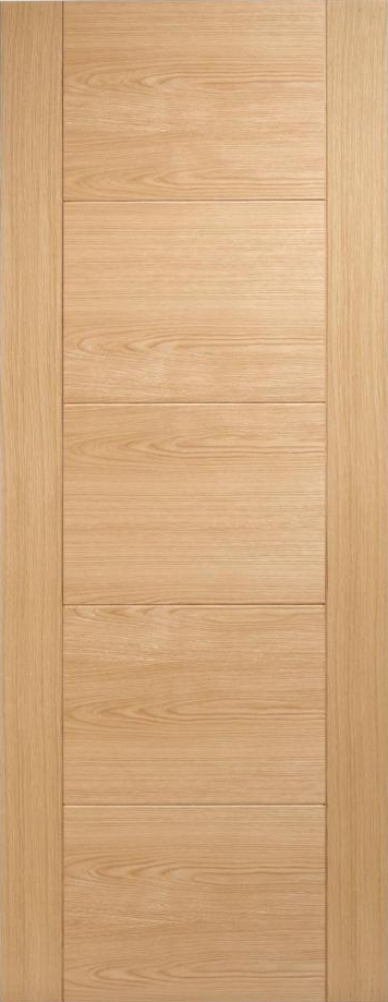 Vancouver 5P Oak Prefinished Door