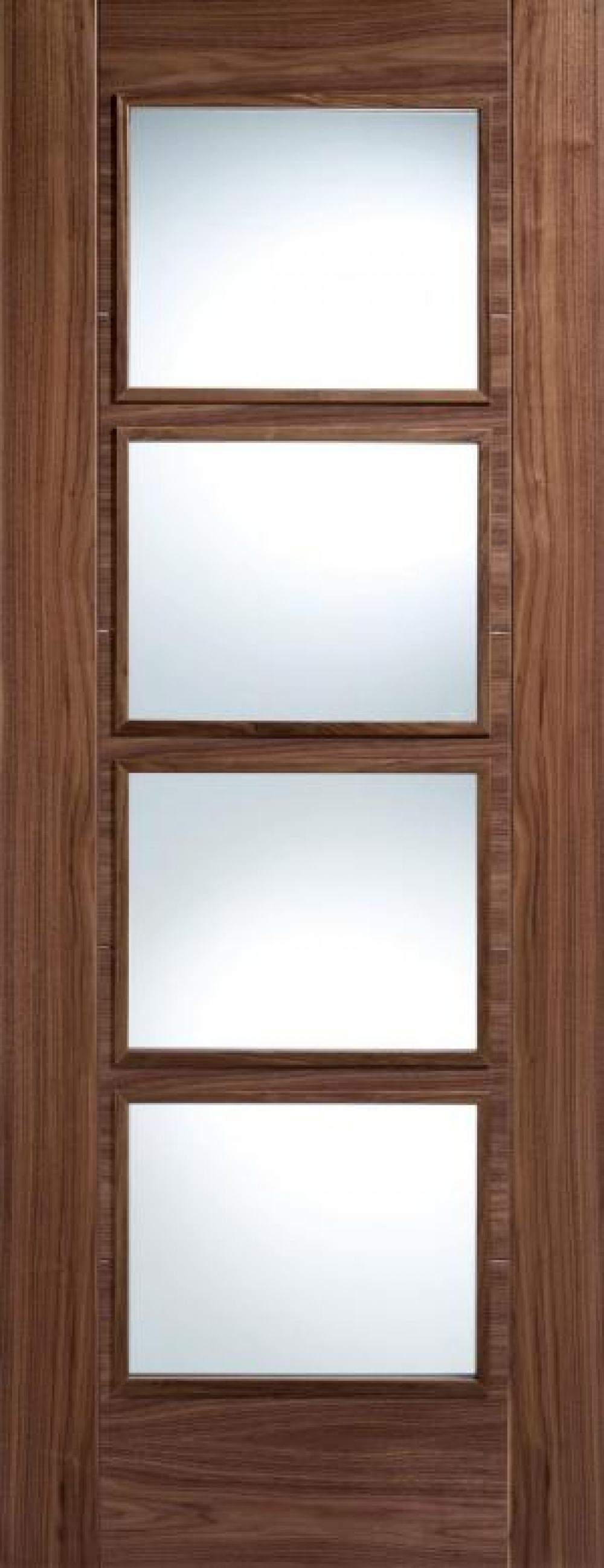 Vancouver Walnut 4L Prefinished Door