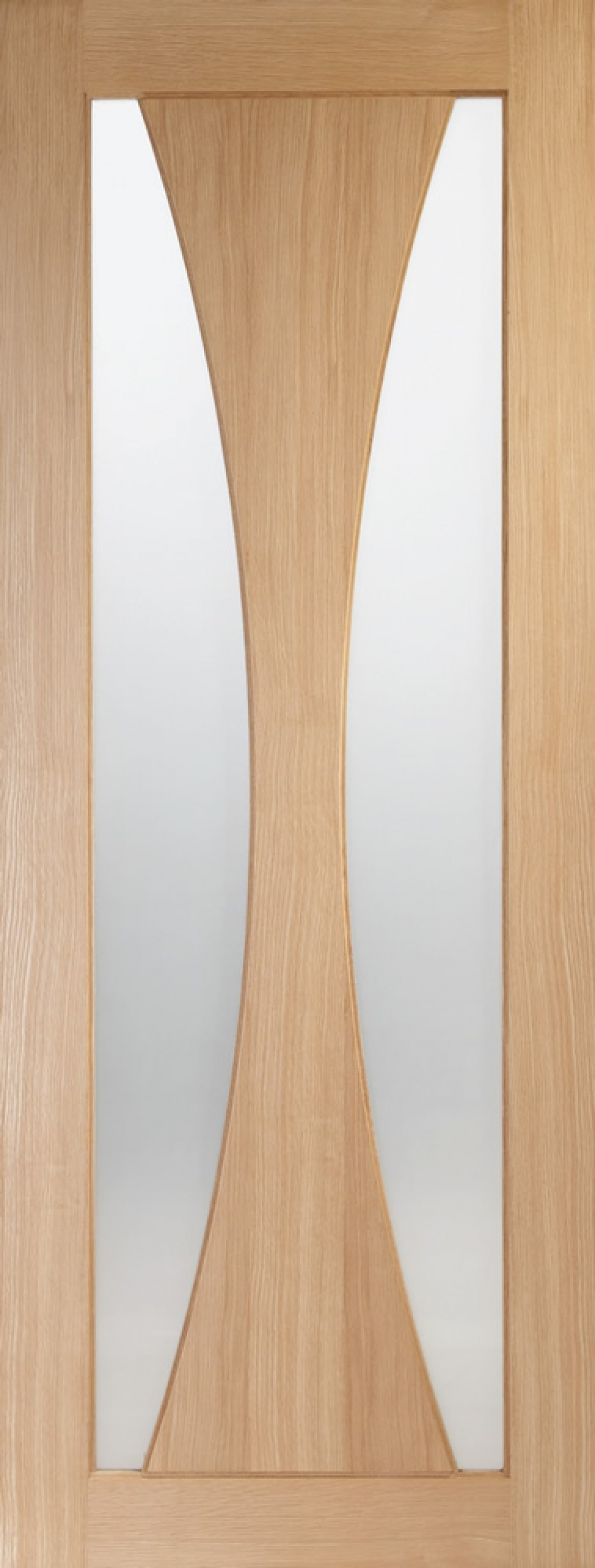 Verona Oak Glazed Door  - PREFINISHED