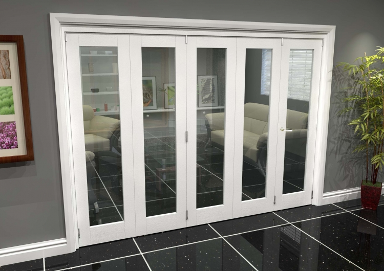 newest 39445 a5f25 White P10 Roomfold Grande (4 + 1 X 533mm Doors)