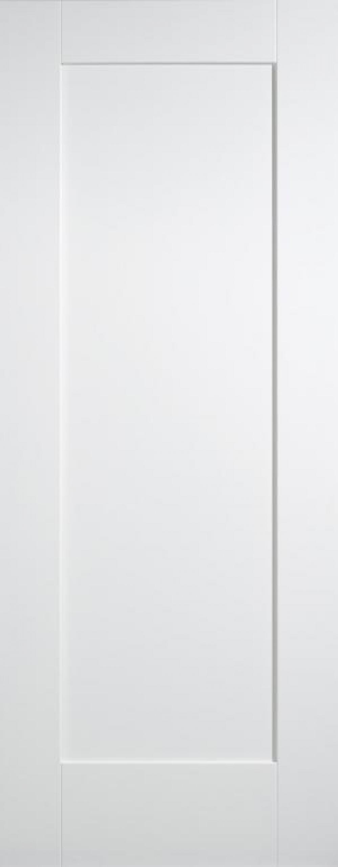 White Shaker 1 Panel