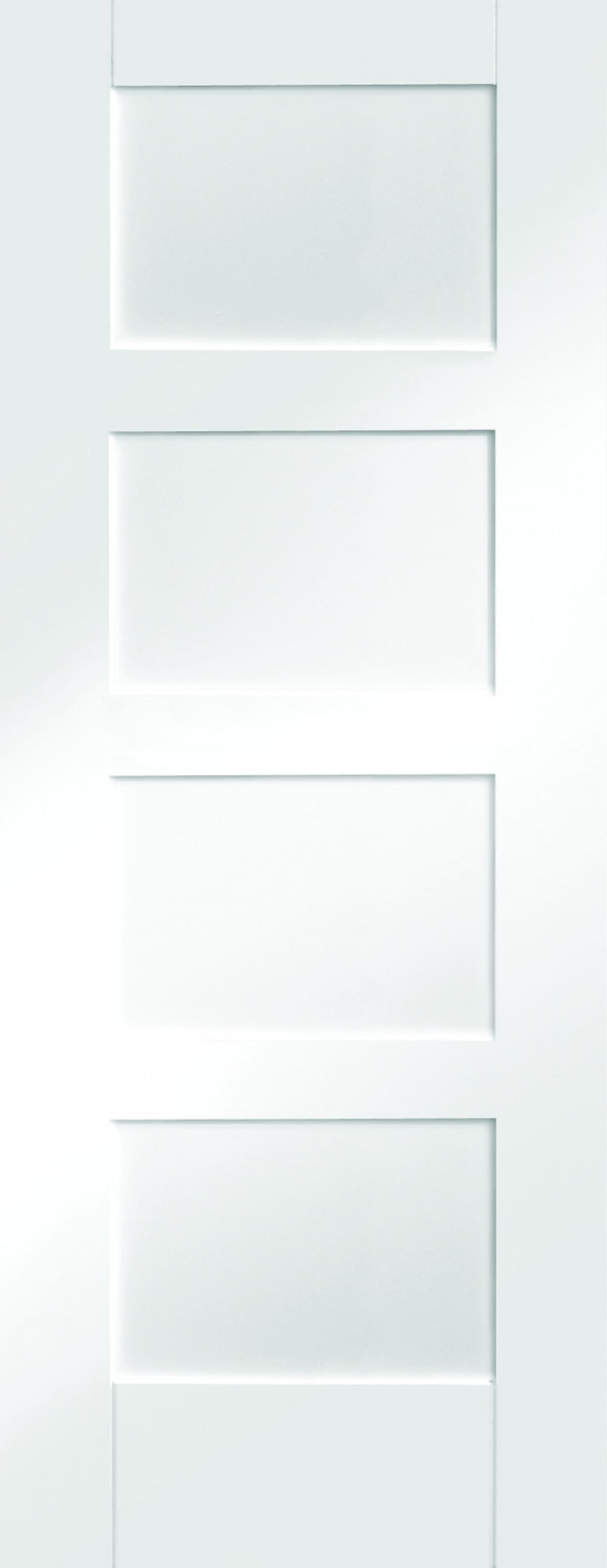 Mendes White Shaker 4 Panel
