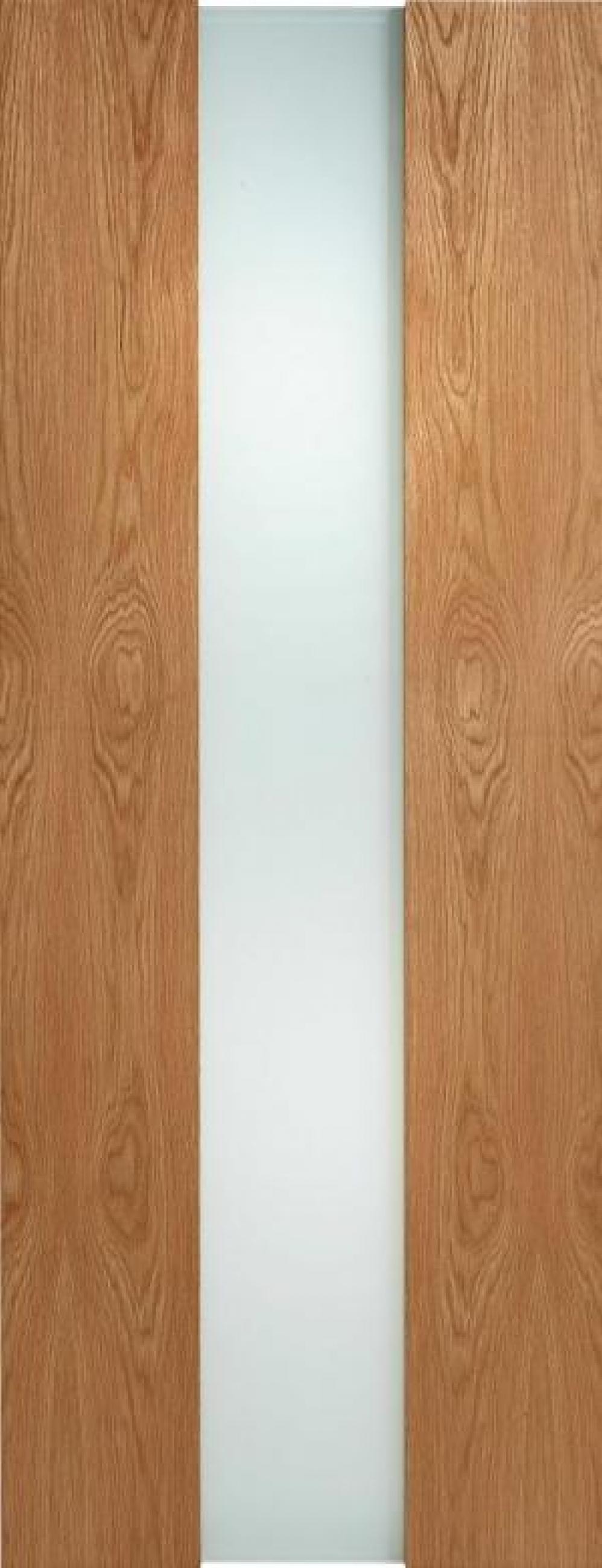 Zaragoza Oak Glazed Door