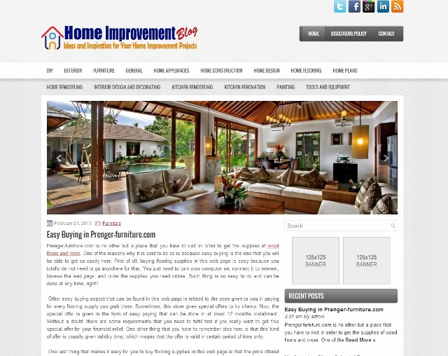 Top List of Home Improvement Blogs | Fitter Windows