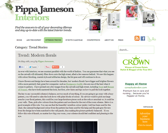 pippa jameson interiors