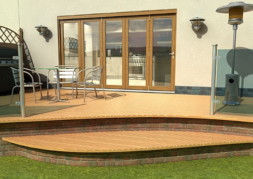 Climadoor bifold patio doors