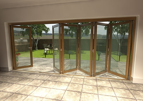 Introducing Climadoor Solid Oak Bi Folding Doors Vibrant