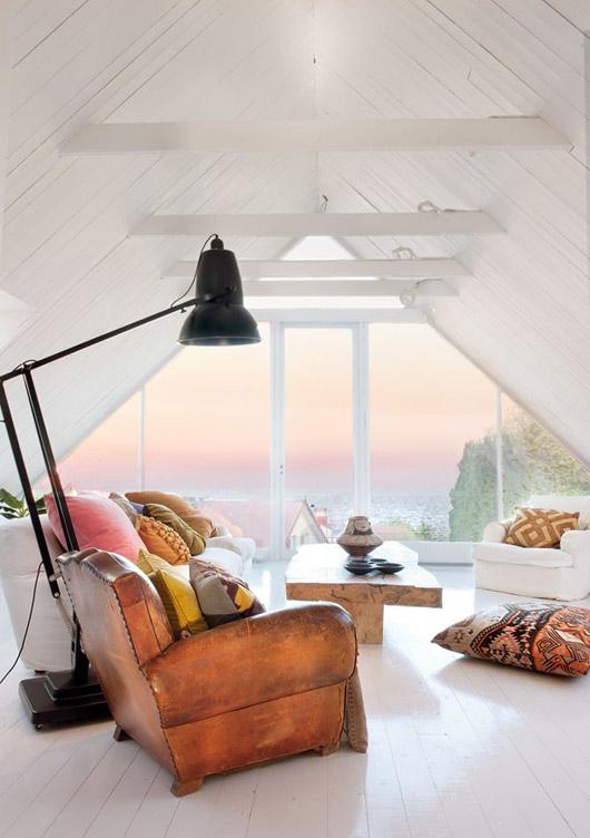 Light matters - loft converison with a view