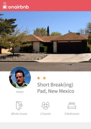 Want to stop at the house from Breaking Bad?