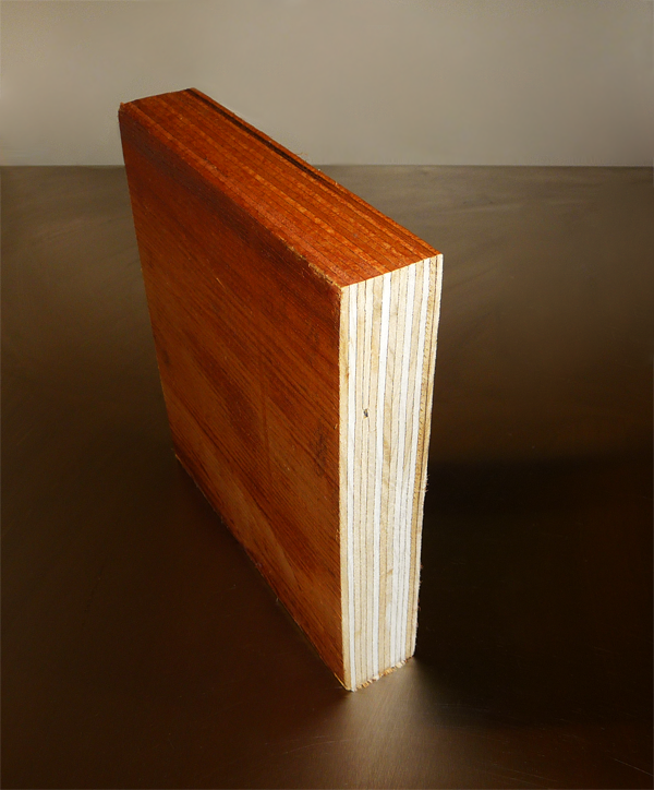 veneered wood