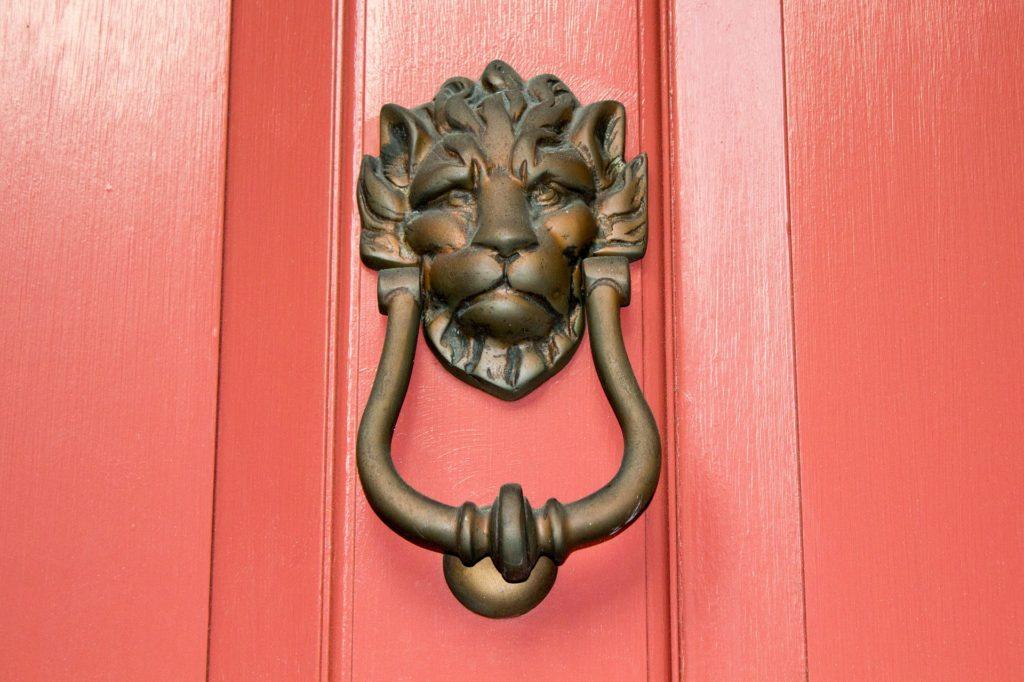 period door knocker