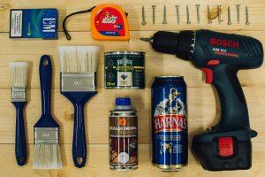 door finishing tools