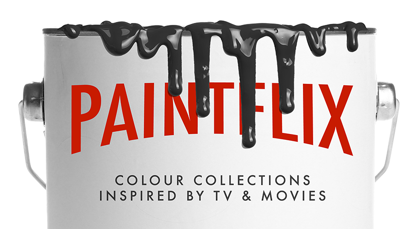 Paintflix - Colour Collections Inspired by TV & Movies - hero image