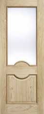 Oak Marseille RM2S Glazed - Frosted Glass