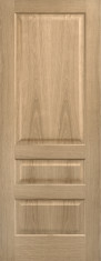 Oak Contemporary 3 Panel Door - Prefinished