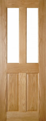 Bury Glazed Oak Door - Prefinished