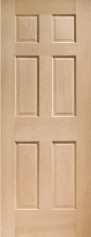 Colonial Oak 6 Panel Door