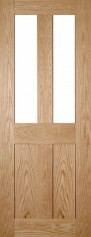 Eton Glazed Oak Door