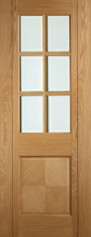 Kensington Glazed Oak Door