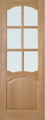 Louis Glazed Oak Door - Deanta