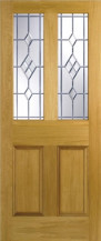 Malton Abe Lead Glazed Door