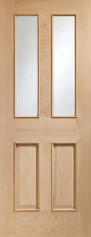 Malton Oak Glazed Door Rm2S