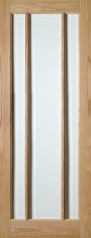 Norwich Glazed Oak Door