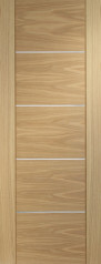 Portici Oak  Door - PREFINISHED