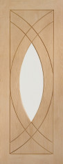Treviso Oak Glazed Door - PREFINISHED
