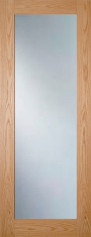 Walden Glazed Oak Door - Clear