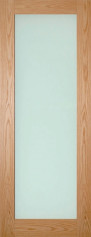 Walden Oak Glazed Door - Frosted