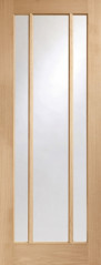 Worcester Oak Glazed Door - PREFINISHED